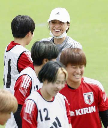 なでしこ控え組、精力的に練習 サッカー女子日本代表 画像1