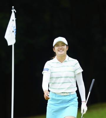 五輪代表の稲見「状態悪くない」 渋野が復帰、女子ゴルフ 画像1