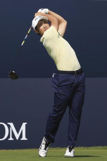 ゴルフ、金谷70、星野は74 全英オープン開幕 画像1