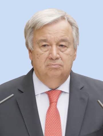 国連総長、五輪で訪日せず 休戦決議の順守訴え 画像1