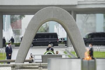 バッハ会長が広島を訪問 「五輪通じ平和に貢献」と演説 画像1