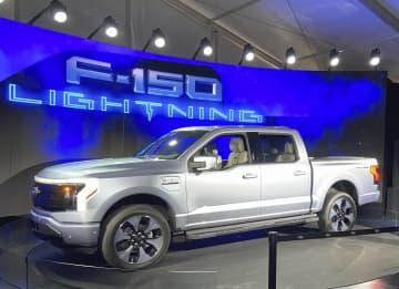 米フォード、主力EVを公開 普及へ試金石、F―150 画像1