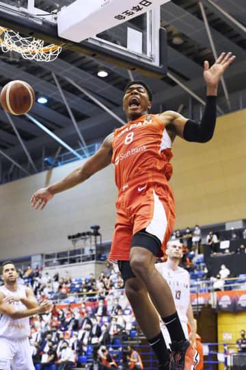 バスケ男子、ベルギーに快勝 日本代表、八村は24得点 画像1