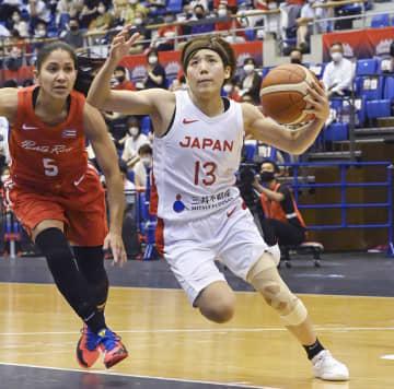 日本、プエルトリコに完勝 バスケ女子、最後の強化試合 画像1