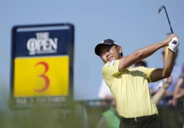 木下稜介、通算3オーバー64位 全英オープンゴルフ第3日 画像1