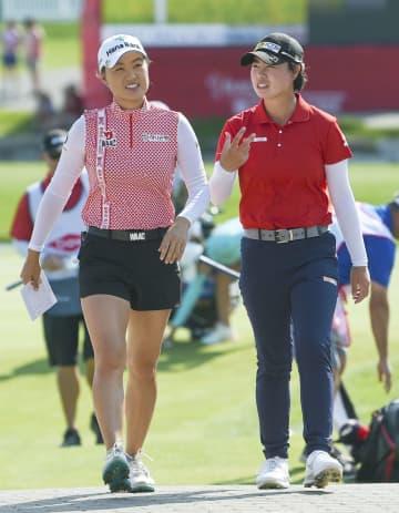 笹生組5位、畑岡組12位 米女子ゴルフ最終日 画像1