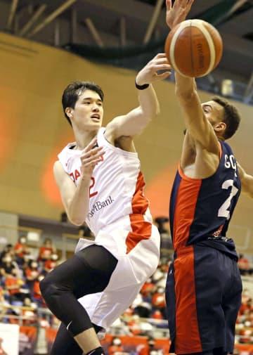 バスケ、日本が強豪フランス破る 五輪男子代表の強化試合 画像1