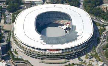 国立競技場で開会式リハーサル 23日本番、花火も打ち上げ 画像1