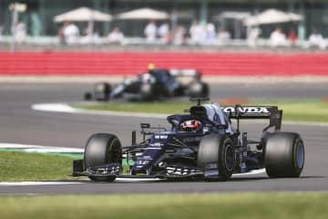 F1角田10位、2戦ぶり入賞 英国GP、ホンダ6連勝ならず 画像1