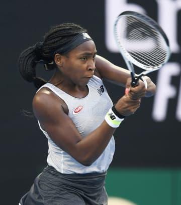 ガウフが陽性で欠場、女子テニス 五輪米代表17歳、新型コロナ 画像1