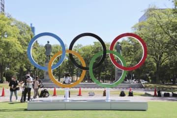 札幌に五輪モニュメント マラソン発着の大通公園 画像1