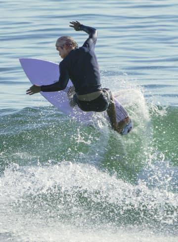 五十嵐カノア「今日から始まり」 五輪のサーフィン公式練習開始 画像1