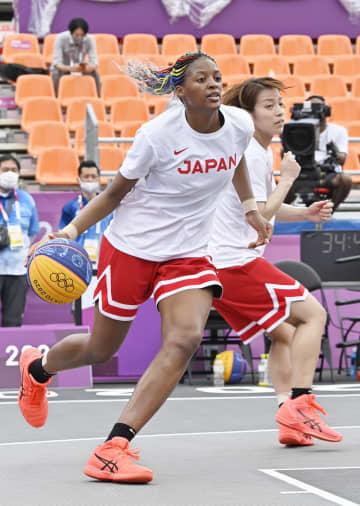 バスケ3人制女子が初練習 馬瓜ステファニー「気抜けない」 画像1