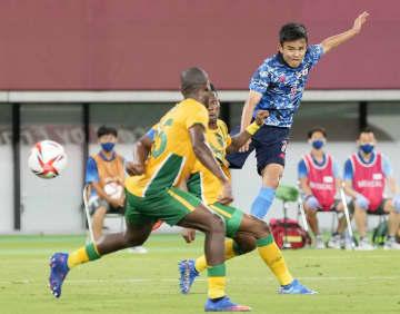 日本、初戦の南アに1―0で勝つ サッカー男子・22日 画像1