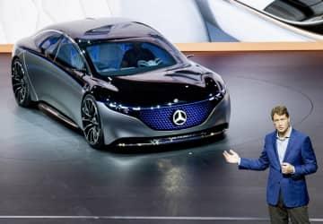 メルセデス、全車EVに 30年まで、5兆円投資 画像1