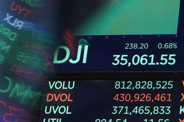 NY株最高値、3万5千ドル台 終値で初、米景気回復期待 画像1