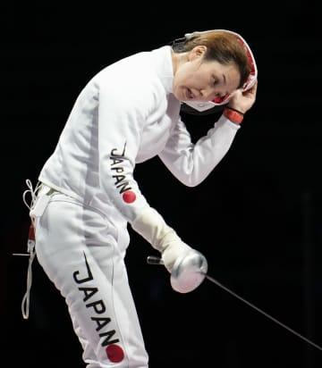 女子エペ、佐藤は3回戦で敗退 フェンシング・24日 画像1