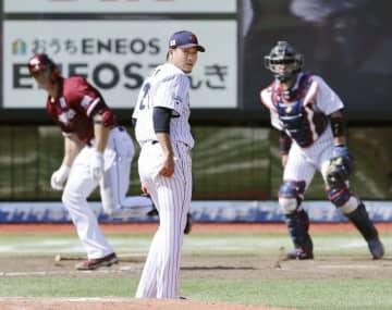 野球日本代表、楽天に逆転負け 宮城・仙台で強化試合 画像1