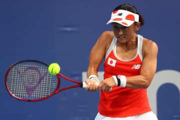 土居美咲が1回戦突破 テニス・24日 画像1