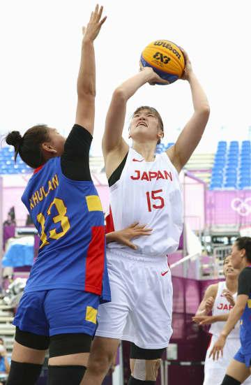 日本は女子連勝、男子連敗 バスケ3人制・25日 画像1