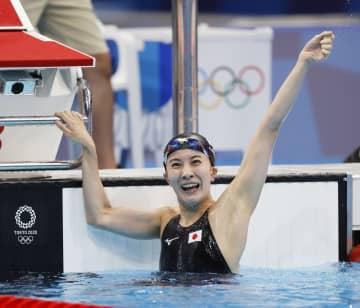大橋悠依が400個メで金メダル 競泳・25日 画像1