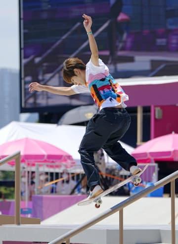 スケートボード堀米が金メダル 男子ストリート、初代王者に 画像1