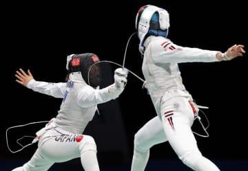 上野優佳、山田優が6位 フェンシング・25日 画像1