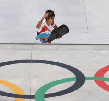 ストリートで堀米が金メダル スケートボード・25日 画像1
