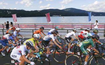 与那嶺が21位、金子は43位 自転車・25日 画像1