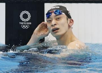 入江、小西は準決勝敗退 競泳・26日 画像1