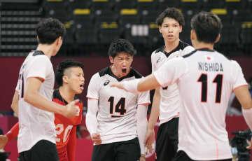 日本、カナダ下して2連勝 バレーボール・26日 画像1