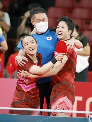 水谷・伊藤組が日本初の金メダル 卓球・26日 画像1