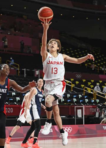 日本女子がフランス破る バスケットボール・27日 画像1