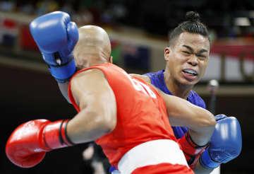 ウエルター級、岡沢は2回戦敗退 ボクシング・27日 画像1