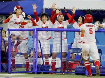 ソフトボール日本「金」、米破る 上野力投、北京に続き頂点 画像1