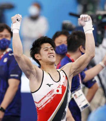日本勢、体操個人で3連覇目指す 第6日見どころ 画像1