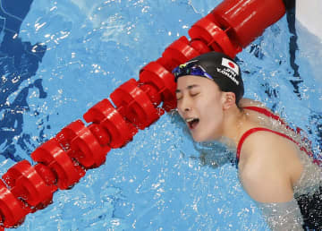 大橋200個人メドレーも「金」 個人種目2冠は競泳女子で初 画像1