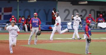 日本、逆転で白星発進 野球・28日 画像1