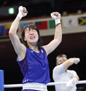 入江聖奈、女子初のメダル確定 ボクシング・28日 画像1