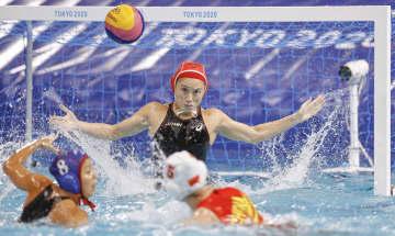 女子の日本は2連敗 水球・28日 画像1