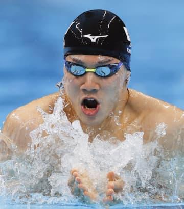 武良7位、瀬戸と萩野ら決勝進出 競泳・29日 画像1