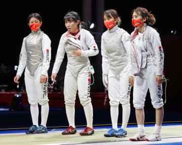 フルーレ団体の日本は6位 フェンシング・29日 画像1