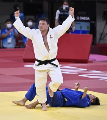 柔道男子ウルフが金メダル 100キロ級5大会ぶり 画像1