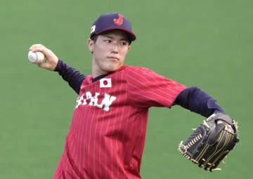 森下、田中将大ら投手が調整 五輪野球、31日にメキシコ戦 画像1