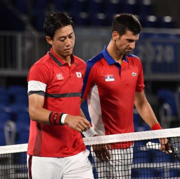 錦織圭、準々決勝でジョコに敗退 テニス・29日 画像1