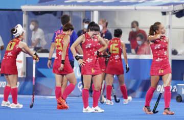 女子日本、1次リーグ4戦全敗 ホッケー・29日 画像1