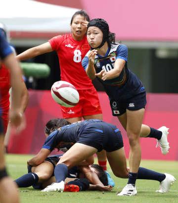 女子は準々決勝に進めず ラグビー7人制・30日 画像1