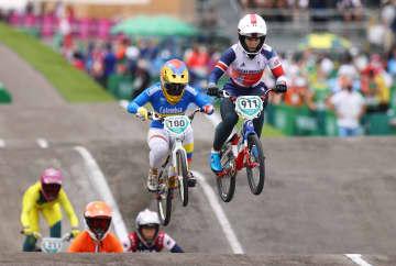 BMX、女子はシュリーバー優勝 自転車・30日 画像1