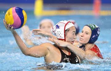 女子日本は3連敗で敗退 水球・30日 画像1