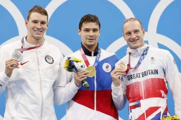ロシアのドーピング疑惑に言及 競泳男子のマーフィー 画像1